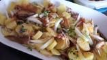 Salade de PDT au maquereau fumé mariné au thym citron1