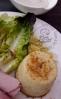 Mini flans de chou fleurs au curry et estragon2