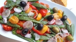 Salade de légumes printaniers
