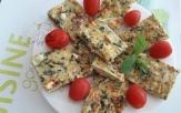 Frittata aux herbes poivron et chèvre1