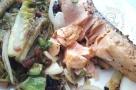 Saumon et sucrines à la plancha1