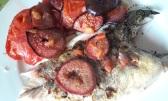 Dorade et son accompagnement de figues tomates, citron confit et mogettes1