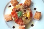Carrés de saumon grillés et légumes surprise 1
