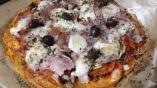 Patate douce revisitée en pizza