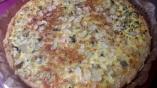 Tarte aux cardes de blettes au cidre et Dukkah