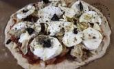 Pizza aux restes d'Albondigas et céleri1