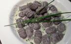 GNOCCHIS DE VITELOTTES sauce ail et bleu de brebis1