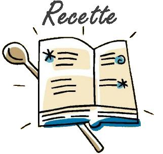 Livre ouvert recette – CUISINE DE GUT