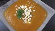 Soupe aux rutabaga carottes et feta