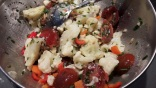 Salade de chou fleurs aux anchois1