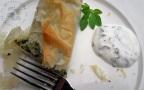 Croustillants d'épinards haddock et pommes de terre