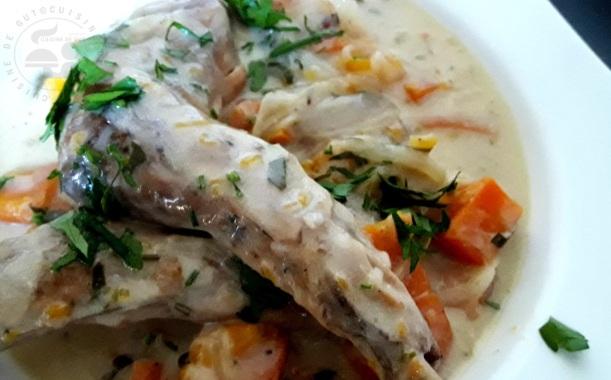 Gigolettes de lapin et butternut au cidre