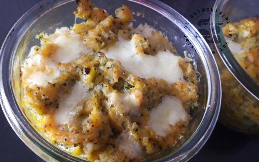 Purée de Butternut brocolis au Salers
