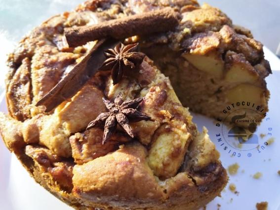 Gâteau aux pommes et épices1