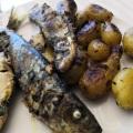 Plancha de sardines et grenailles à lachermoula1