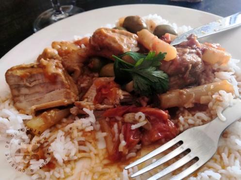 Sauté de veau au olives et salsifis auxépices de couscous2