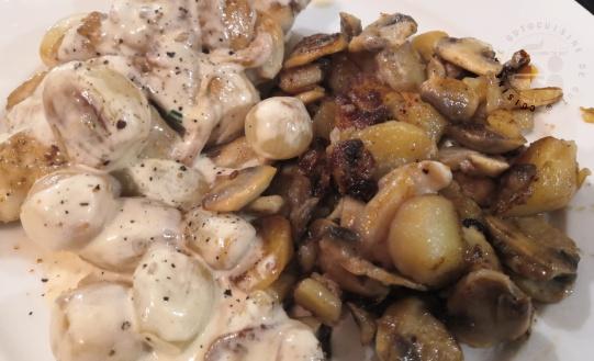 Ris de veau sauce aux grelots glacés et ses légumes2
