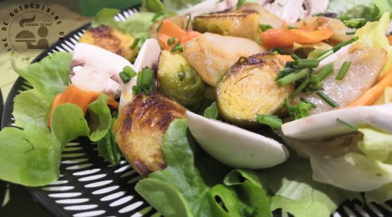 Salade de légumes d'hiver et Noix de St-Jacques 1