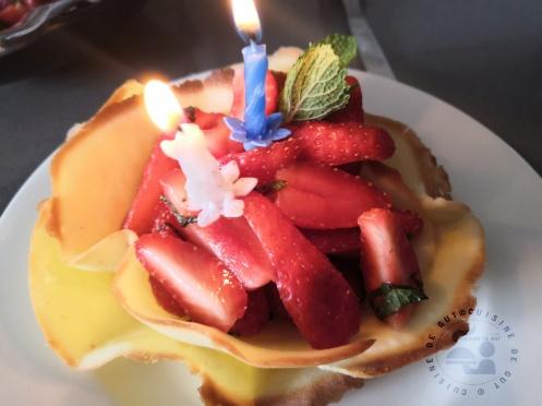 Double corolle de fraises mentholées3