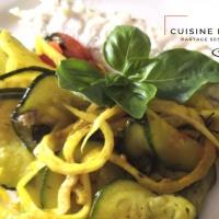 Dorade royale et légumes d'été aux saveurs provençales