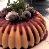 Sorbet aux fruits d'été parfumé basilic et Piña colada